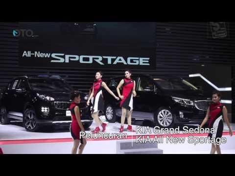 KIA Grand Sedona dan All New Sportage Resmi Meluncur di GIIAS 2016 | Oto.com