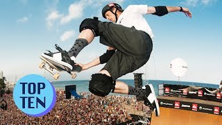 Top 10 Extreme Sports Moments Of All Time