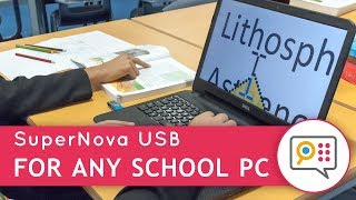 SuperNova USB - Instant Magnification on any School PC