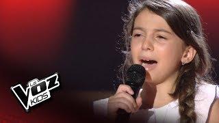 """Nora: """"Limosna de amores"""" – Audiciones a Ciegas  - La Voz Kids 2018"""