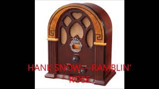 HANK SNOW   RAMBLIN' ROSE