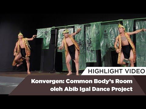 Highlight Konvergen: Common Body's Room oleh Abib Igal Dance Project