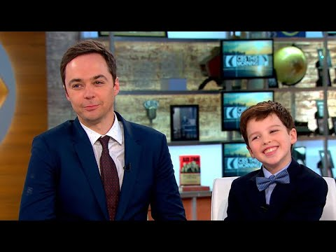 "Jim Parsons and Iain Armitage talk CBS' ""Young Sheldon"""