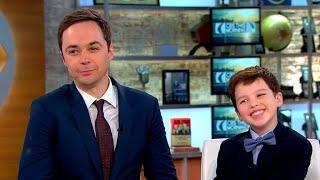 Jim Parsons And Iain Armitage Talk CBS Young Sheldon