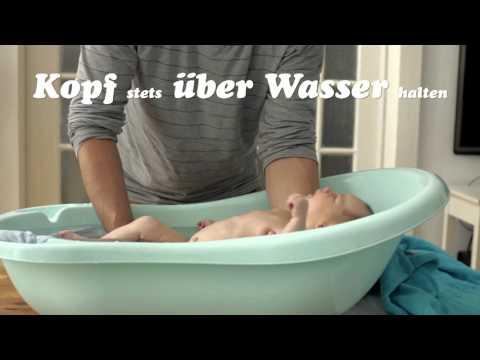 Baby 1x1: Das Baby baden