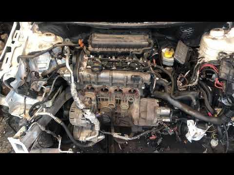 Где находится номер двигателя на автомобиле Skoda Fabia