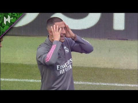 Eden Hazard and Real Madrid train at the Etihad | Man City v Real Madrid | Champions League