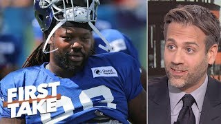 Giants lost trade with Lions for Damon 'Snacks' Harrison – Max Kellerman   First Take