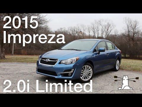 Driven: 2015 Subaru Impreza 2.0i Limited