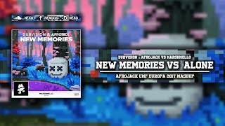 New Memories Vs Alone (Afrojack UMF Europa 2017 Mashup)