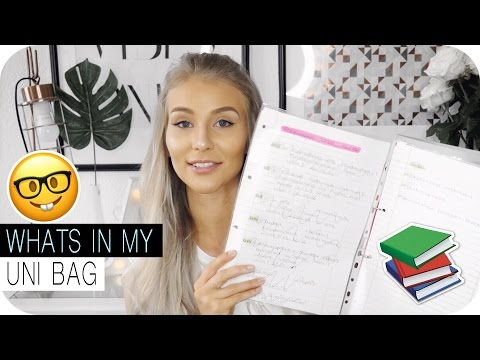 MEINE TOP UNIHACKS + WHATS IN MY UNI BAG TAG - DAS studiere ich... | AnaJohnson
