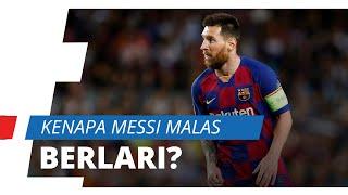 Terungkap, Inilah Alasan Lionel Messi Malas Berlari Selama Awal Pertandingan