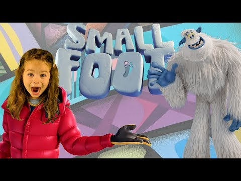 Smallfoot 👣Movie Review 🎥🎬– four-year-old reviews the newest kids movie