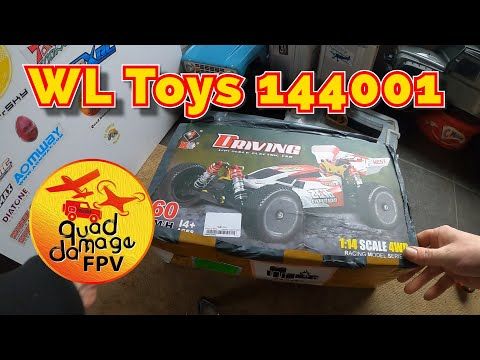 WL Toys 144001 - Unboxing, Test and Thoughts - From Banggood.com