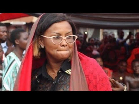 Nana Ama Mcbrown Speaks At Kumchacha's Mum Burial Services
