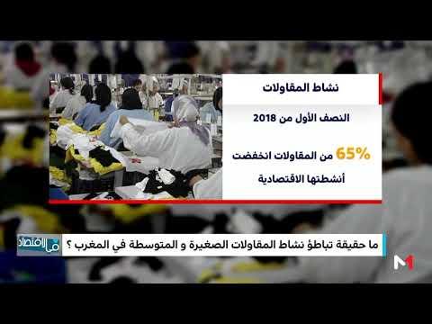 العرب اليوم - شاهد: انخفاض الأنشطة الاقتصادية للمقاولات خلال النصف الأول من 2018