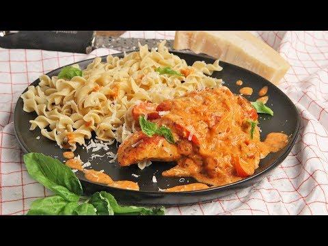 Chicken with Creamy Parmesan Sauce Recipe   Episode 1247