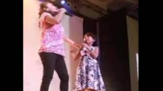 Wrecking Ball Lyca and Mommy Dionisia Duet
