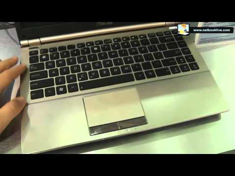 Asus U46 hands-on - slim and light 14 inch laptops
