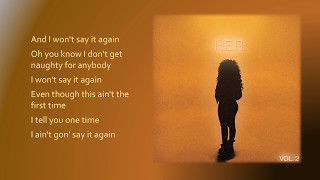 H.E.R. - Say It Again (Lyrics)