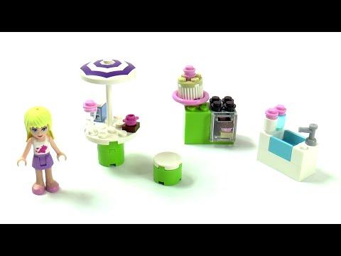 Vidéo LEGO Friends 3930 : La cuisine d'extérieur de Stéphanie