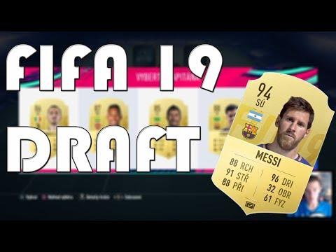 VYBÍRÁME DRAFT!! | FIFA 19 | CZ/SK