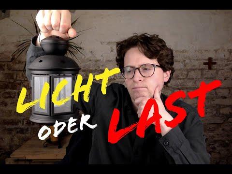 Licht oder Last - Was ist der Mensch für die Welt?