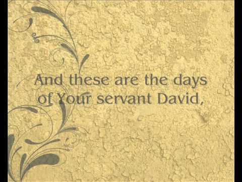 Days of Elijah (With Lyrics) Judy Jacobs
