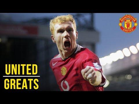 Paul Scholes | Manchester United Greats