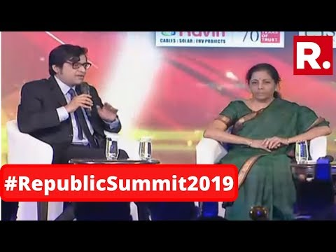 'People Are Investing In India': Finance Minister Nirmala Sitharaman At Republic Summit