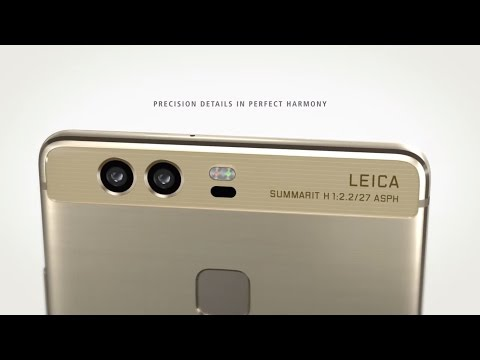 Huawei P9 Plus Gold UNBOXING