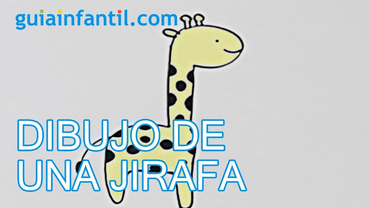 Cómo dibujar una jirafa - Manualidades para niños
