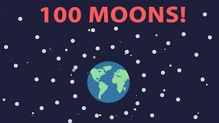 What If Earth Had 100 Moons?