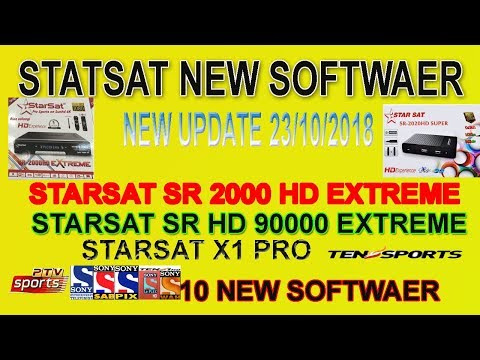Gm Screen working On Starsat Extreme 2000 New Update 23 10 2018