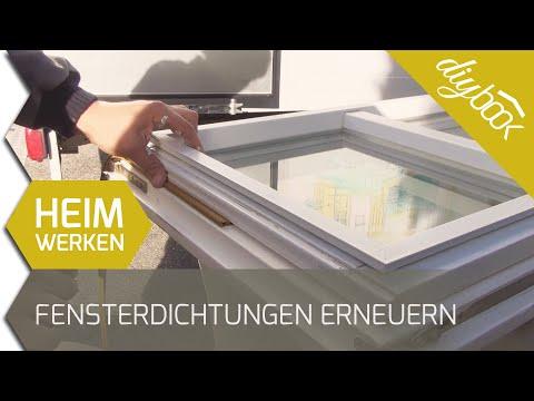 Fensterdichtungen erneuern