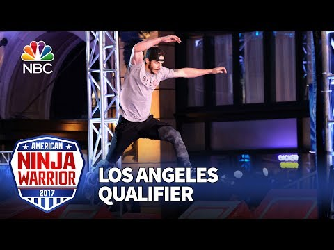 Flip Rodriguez at the Los Angeles Qualifiers - American Ninja Warrior 2017
