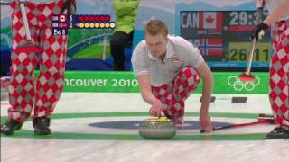Mens Curling Full Gold Medal Match - CAN V NOR  - Vancouver 2010 Olympics