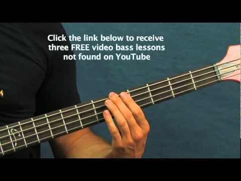 easy bass guitar song lesson crazy train ozzy osbourne