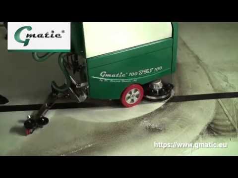 Grundreinigung Gmatic Scheuersaugmaschine   Dr. Gansow Gmatic AG