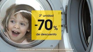 Eroski 2ª unidad al 70 % de descuento anuncio