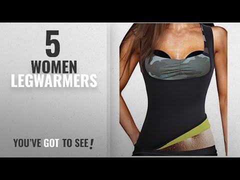 Top 10 Women Legwarmers [2018]: Women's Hot Sweat Slimming Neoprene Plus Size Vest Body Shapers For