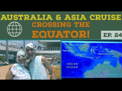 Crossing the Equator Onboard Norwegian Jewel l Cruise Vlog l Ep. 24