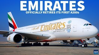 Emirates Retires First A380s