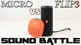 Soundlink Micro vs JBL Flip 3: Sound Battle