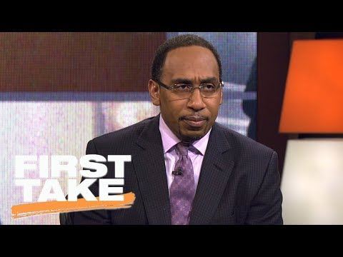 Stephen A. Smith comments on NFL players' reactions to President Trump remarks | First Take | ESPN
