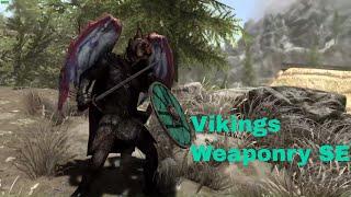 Vikings Weaponry SE Skyrim Special Edition Mod Showcase By Johnskyrim