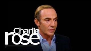 John Galliano On Alexander McQueen | Charlie Rose
