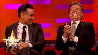 How Colin Farrell Gave Bryan Cranston Pink Eye In BOTH Eyes | The Graham Norton Show