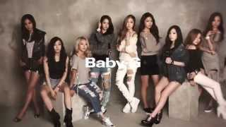 [HD] 131023 Girls' Generation (SNSD) - 2013 Real BABY G Making Film