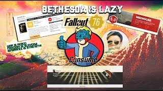 Bethesda is LAZY and fallout 76 reviews are proof of it!